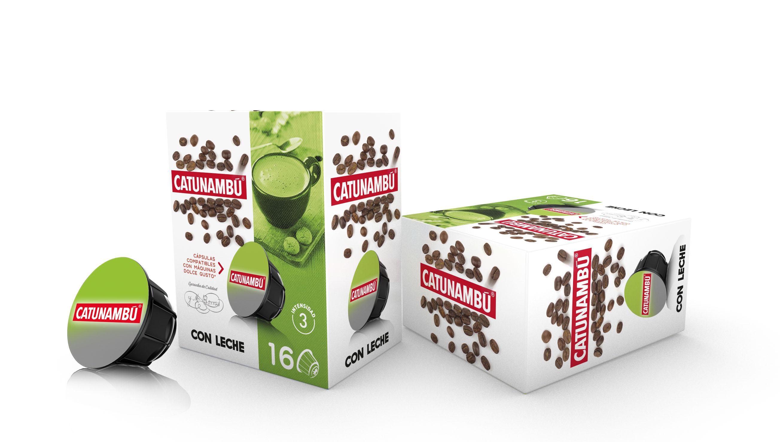 con leche base 3d capsulas nuevas catunambu